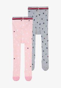 grey/light pink