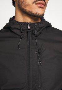 TOM TAILOR DENIM - CLEAN SUMMER JACKET - Summer jacket - black - 5