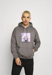 Mennace - NOTHING BUT NET HOODIE - Sweatshirt - grey - 0