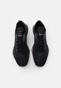 Nike Sportswear - AIR ZOOM TYPE UNISEX - Sneakers basse - black/dark grey/bright crimson/white - 6