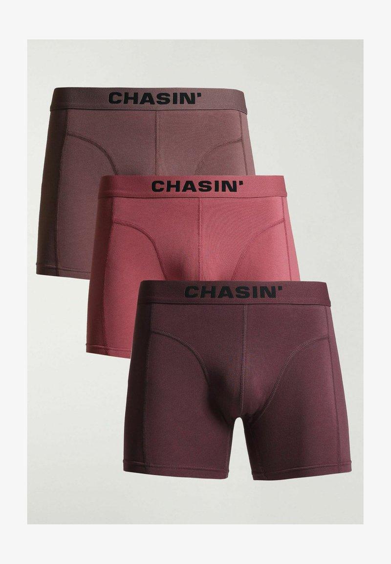 CHASIN' - 3 PACK - Boxershort - red