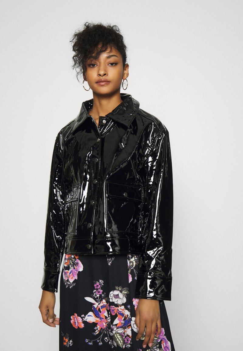 Gina Tricot - RUT TRUCKER JACKET - Summer jacket - black