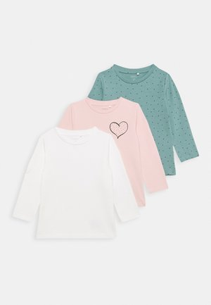 NBFLOTUS 3 PACK TOP - Longsleeve - peachskin
