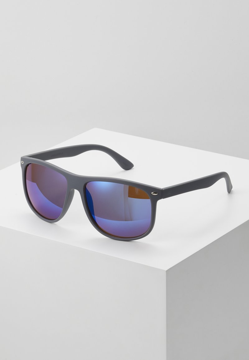 Jack & Jones - JACMAVERICK SUNGLASSES - Sunglasses - grey/blue