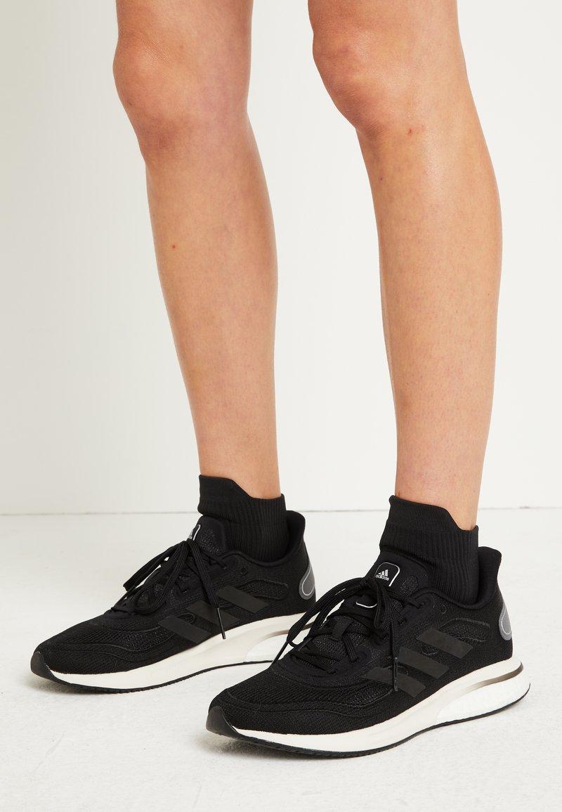 adidas Performance - SUPERNOVA - Zapatillas de running neutras - core black/grey six/silver metallic