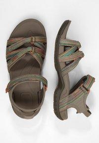 Teva - TIRRA - Walking sandals - taupe/multi - 1