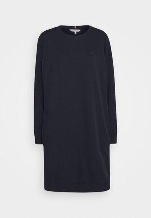 OVERSIZED SHIFT SHORT DRESS  - Denní šaty - desert sky