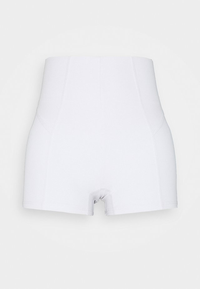 ULTIMATE BOOTY SHORTIE SHORT - Tights - white