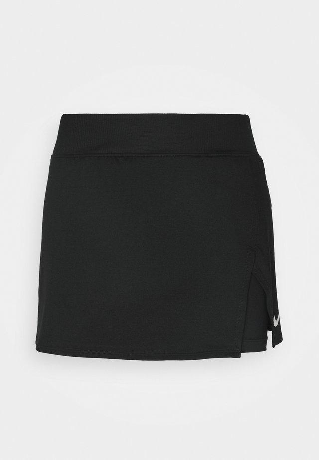SKIRT  - Sportkjol - black/white