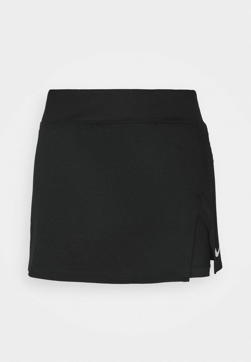 Nike Performance - SKIRT  - Sports skirt - black/white