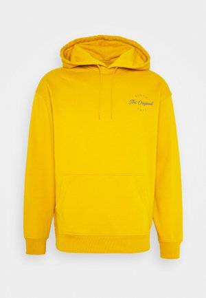 T3 RELAXD GRAPHIC HOODIE UNISEX - Luvtröja - golden yellow