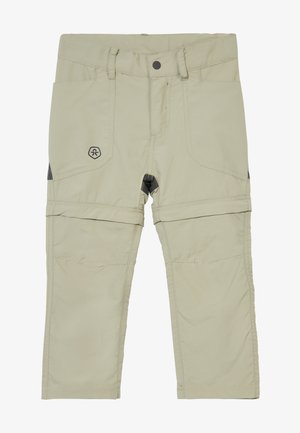TIGGO ZIP OFF PANTS - Outdoor trousers - seagrass
