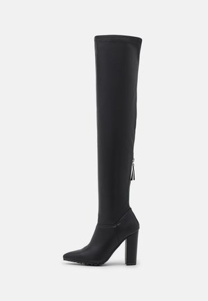 SUNRAYY - Over-the-knee boots - black paris