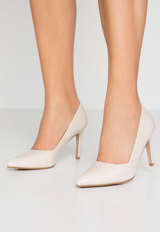 SAMANTHA - Zapatos altos - nude