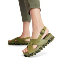 Timberland - SANTAMONICA SUNRISE XBAND - Platform sandals - nutria - 0
