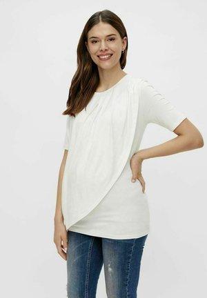 MLNEWBROOKLYN IRIS - Print T-shirt - snow white
