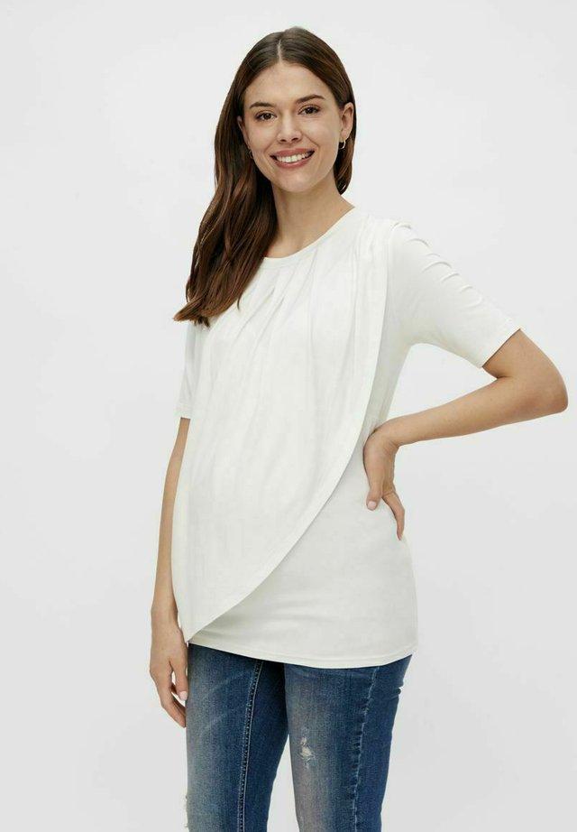 MLNEWBROOKLYN IRIS - T-shirt con stampa - snow white