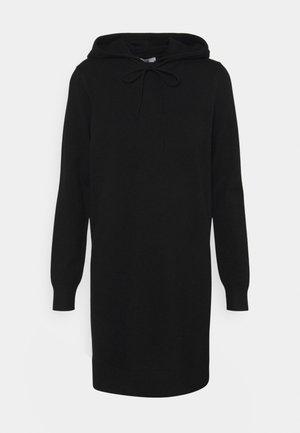 JDYMISCHA HOOD DRESS - Jumper dress - black