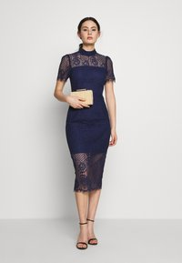 Mossman - MAKING THE CONNECTION DRESS - Cocktail dress / Party dress - navy - 1