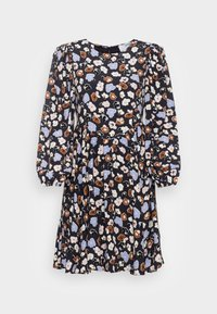 SLFHERI SHORT DRESS - Day dress - blue graphite