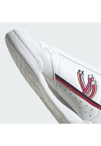 adidas Originals - CONTINENTAL 80 SHOES - Trainers - ftwr white/collegiate navy/scarlet - 7