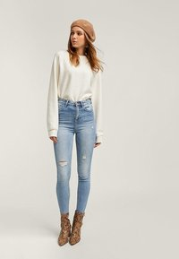 Stradivarius - Jeans Skinny Fit - light-blue denim - 0