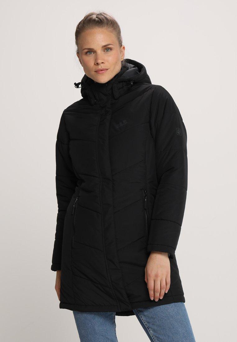 Jack Wolfskin - SVALBARD COAT WOMEN - Winter coat - black