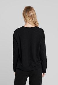 Calvin Klein Underwear - BOLD LOUNGE - Nattøj trøjer - black - 2