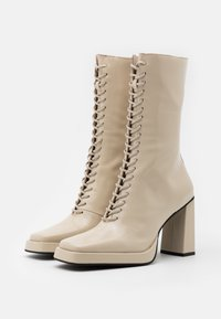 Jeffrey Campbell - TESTINO - High heeled boots - ivory box - 2