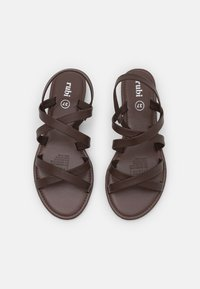 Rubi Shoes by Cotton On - LUCY STRAPPY SLINGBACK - Sandales - choc - 5