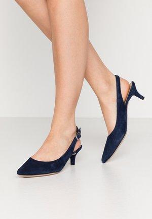 JAMAL - Classic heels - ocean