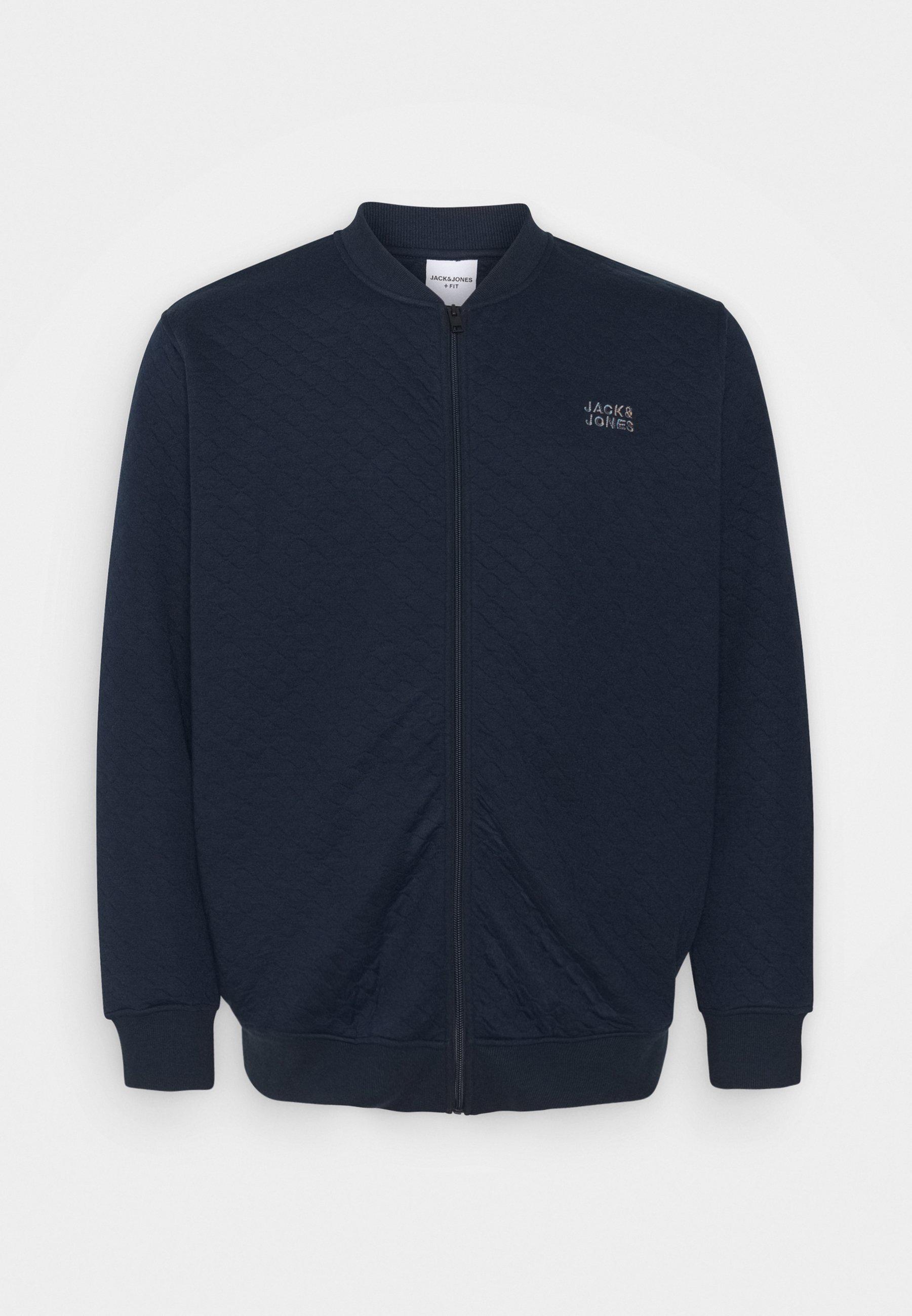 Men JCOCUT ZIP BASEBALLPS - Zip-up sweatshirt