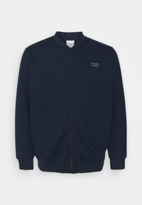 JCOCUT ZIP BASEBALLPS - Zip-up sweatshirt - navy blazer