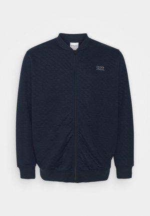 JCOCUT ZIP BASEBALLPS - Felpa aperta - navy blazer