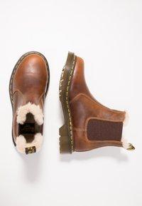 Dr. Martens - 2976 LEONORE - Classic ankle boots - butterscotch orleans - 3