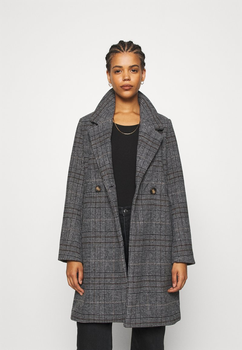 b.young - BYAMANO COAT - Kåpe / frakk - black