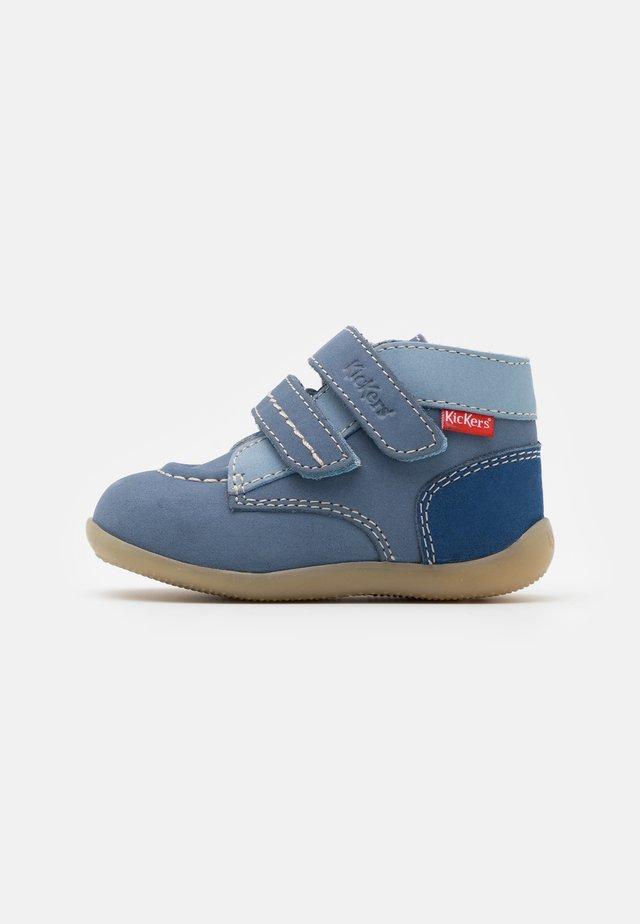 BONKRO - Kotníkové boty - bleu tricolore
