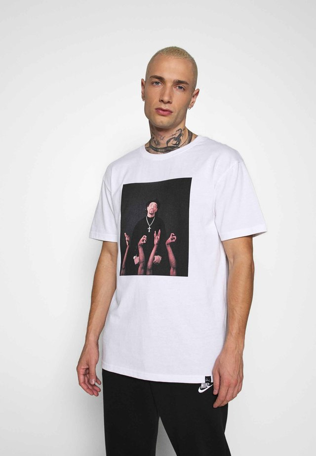 ICE T  - T-shirts med print - white