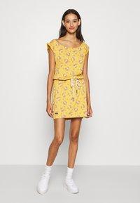 Ragwear - TAMY - Jerseykjole - yellow - 1