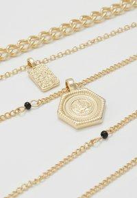 Pieces - PCOSIGGA COMBI NECKLACE - Collier - gold-coloured - 4