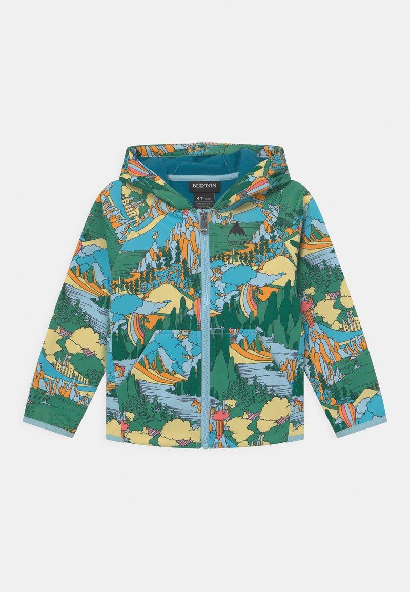 Burton - TODDLERS CROWN WEATHERPROOF FULL-ZIP UNISEX - Soft shell jacket - green/multi-coloured