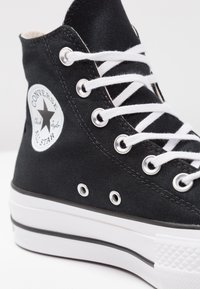 Converse - CHUCK TAYLOR ALL STAR LIFT - Zapatillas altas - black/white - 3