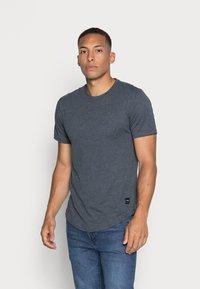 Only & Sons - ONSMATT LIFE LONGY TEE 7 PACK - T-shirt basic - white/cabernet melange/forest night melange - 1