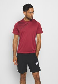 adidas Performance - Camiseta estampada - legred - 0