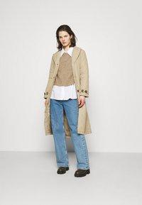 Freequent - URBAN - Classic coat - beige sand - 1