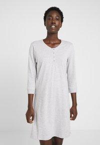 Esprit - JORDYN NIGHSHIRT  - Noční košile - light grey - 0