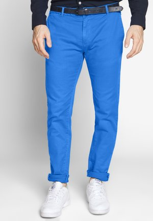 MOTT CLASSIC GARMENT DYED - Chinos - wave blue
