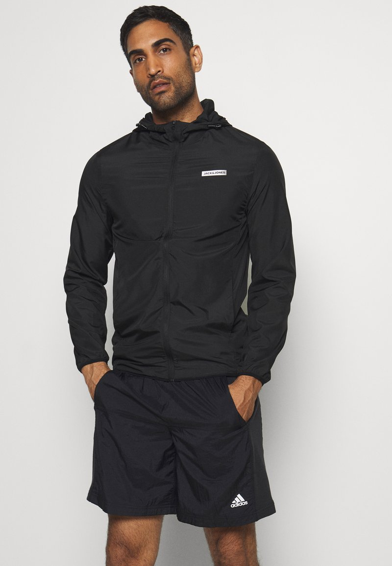Jack & Jones Performance - JCOZSPORT JACKET - Training jacket - black