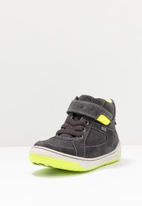 Lurchi - BARNEY-TEX - Sneaker high - charcoal/neon yellow - 2