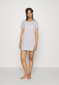 Anna Field - NAP ALL DAY NIGHTIE  - Nightie - grey - 1